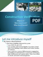 Construction Verification Web