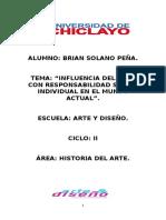 """""""INFLUENCIA DEL ARTE CON RESPONSABILIDAD SOCIAL INDIVIDUAL EN EL MUNDO ACTUAL""""..docx"""