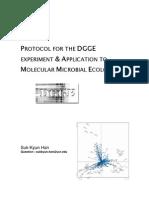 DGGE Protocol