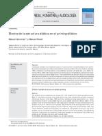 Efectos de la estructura silábica en el priming