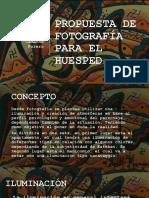 PROPUESTA DE FOTOGRAFÍA