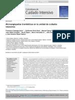 microangiopatia trombotica MAT EN UCI José rojas