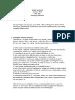 design document cwhite