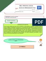 GUÍA DE APRENDIZAJE 5 PERSONAL SOCIAL