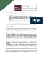 Práctica 2.- Elaboración del DNA, realizar la evaluación de puesto.
