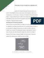 Analisis de Sistemas Reactivos Con Base en La Primera Ley