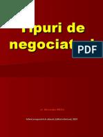 Tipuri de negociatori