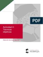 Actividad 4. Técnicas objetivas(1)