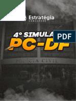 4 SIMULADO PCDF