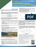 Poster Adaptación Pulmonar Altura