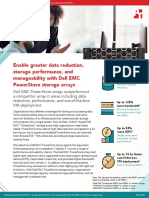 Enable greater data reduction, storage performance, and manageability with Dell EMC PowerStore storage arrays