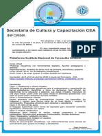 CAPACITACIÓN infod