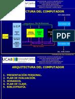 3 - PLANIFICACIÓN ARQUITECTURA DEL COMPUTADOR 2020-I