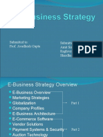 E - Business Strategy