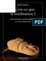 Introduction au bouddhisme et a la meditation - Rob Nairn