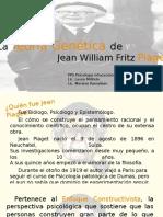 PPT Teoría Genética de Jean Piaget