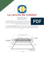 Cancha de Voleibol Pau
