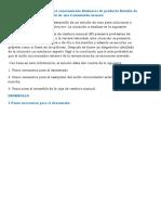 Actividad de transferencia del conocimiento Evidencia de producto Estudio de caso 1