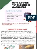SÍNDROME DE GUILLAN BARRÈ - ATENCIÓN EN EL ADULTO Y ANCIANO