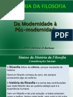 Filosofia Socrática à Pós Modernidade.ppt