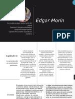 Edgar Morin Cap. 2 y 3