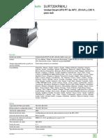 Smart-UPS en línea_SURT20KRMXLI_APC