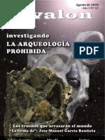 Revista digital Ávalon, enigmas y misterios. Año I - Nº 10 - Agosto de 2010