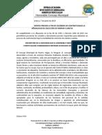 ESTUDIOS PREVIOS CONTRATO CMMC-006-19