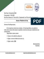Comunicado_nº_106_-_Acesso__Plataforma_Cellep_-_1º_Ano_do_Ens._Fund._I_ao_9º_Ano_do_Ens._Fund._II
