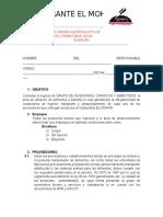 EL RECIBO DE PRODUCTO DE CARNICOS Y EMBUTIBOS  EN EL ALMACEN DE ALIMENTOS Y BEBIDAS