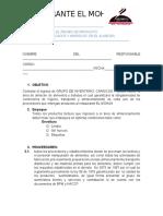 EL RECIBO DE PRODUCTO PESCADOS Y MARISCOS  EN EL ALMACEN