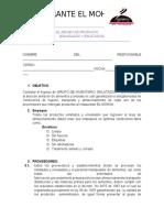 EL RECIBO DE PRODUCTO ENLATADOS Y ENVASADOS