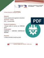 Ensayo ISO 14001-2015