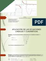 tutoria 4- aplicacion de ecuaciones y funciones