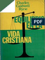 Equilibrio en La Vida Cristiana - Charles Ryrie.pdf