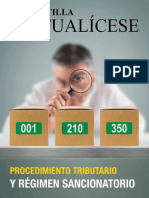 CP 11 2018.Procedimiento Tributario y Regimen Sancionatorio
