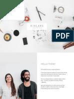 Kinlake Packages Pricelist