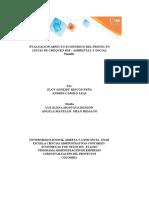 Grupo 265 - Plantilla Excel Evaluación aspecto económico del proyecto _Listas Chequeos RSE Ambiental y Social (Autoguardado)
