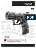 Walther P22 Pistol Manual