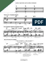 Harmonic Embellishment - Applying Secondary Supertonics and Secondary Dominants