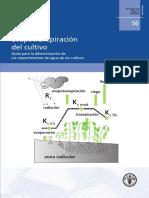 Evapostranpiracion de los cultivos Libro.pdf