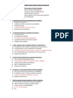 i Examen de Cirugía Plástica y Quemados 2015