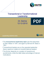 Leadership Patterns 2011