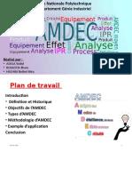 AMDEC maintenance