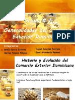 Generalidades del Comercio Exterior Dominicano Presentacion