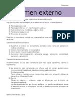 Examen externo