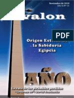 Revista digital Ávalon, enigmas y misterios. Año II - Nº 13 - Noviembre de 2010
