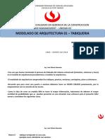 Unidad 03 Modelado de Arquitectura 01 - Tabiqueria