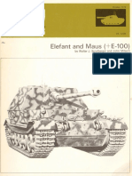 AFV Weapons Profile 61 Elefant and Maus+E100