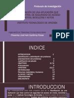 ANALISIS DE PROTOCOLO DE INVESTIGACION